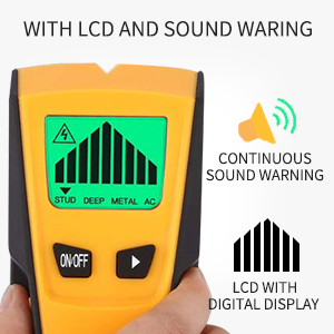 LCD and sound warning