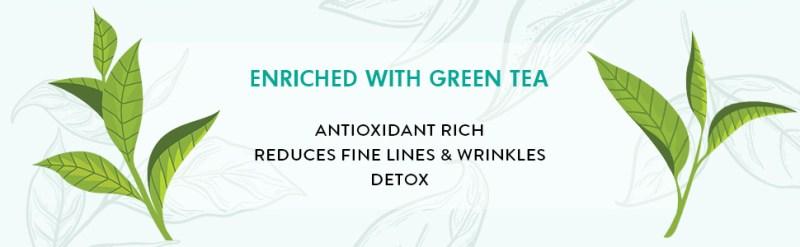 b65cd927 ed8b 47fc 8ea7 58cd3e7c4102.  CR0,0,970,300 PT0 SX970 V1    - mCaffeine Naked Detox Green Tea Night Gel | Moisturization | Vitamin C, Hyaluronic Acid | All Skin | Paraben & Mineral Oil Free | 50 ml