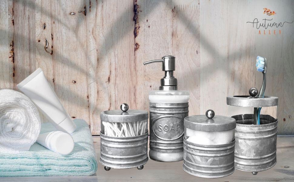 Galvanized Bathroom Accessories