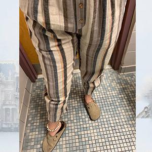 women linen pants