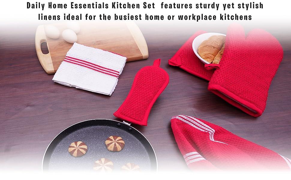 Kitchen Linen Set-11 Pack