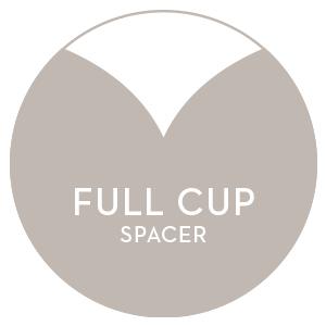 Mey BH   Full Cup Spacer BH-Button, Kennzeichnung am Produkt