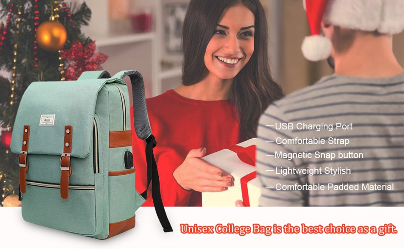 Backpack College School Bag Gift Choice