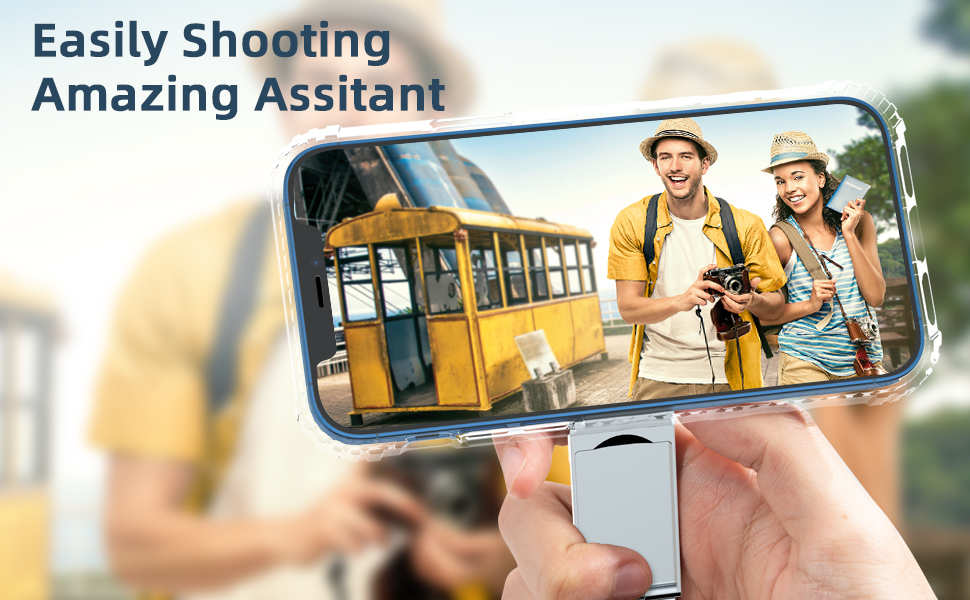 This is your best assistant when shooting Vlog or photo