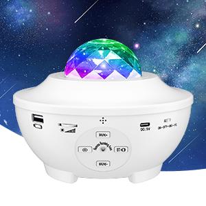 galaxy projector for bedroom