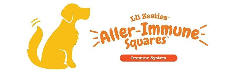 Zesty Paws Lil' Zesties Aller-Immune Squares Immune System