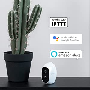 Works with Alexa and Google