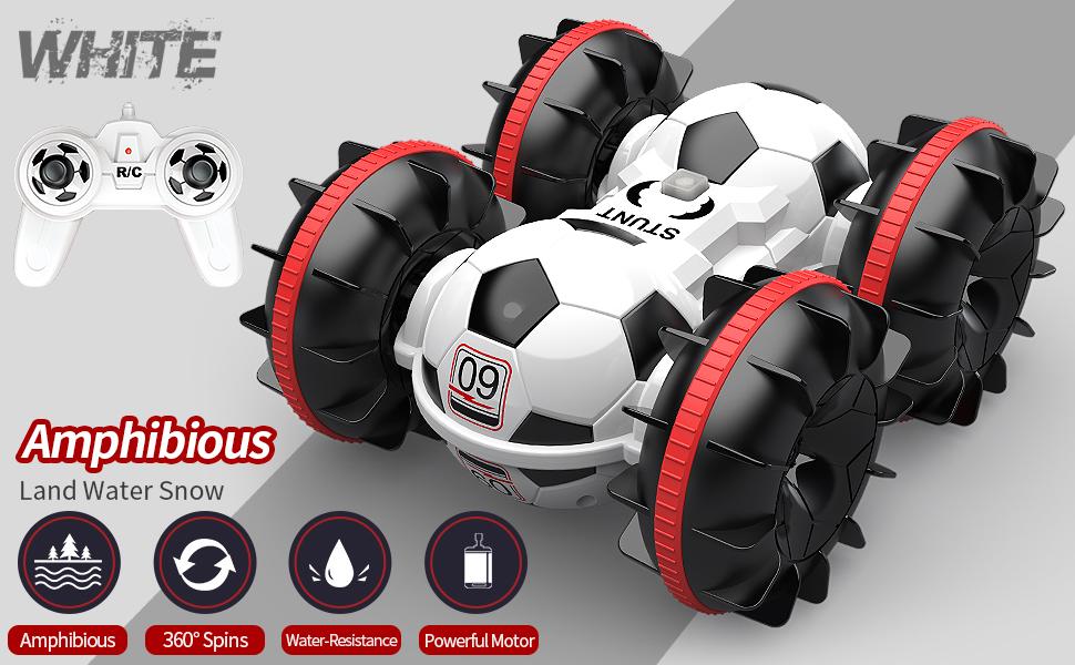 Amphibious Football RC Car