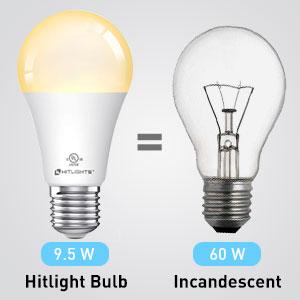 Energy-saving smart bulb