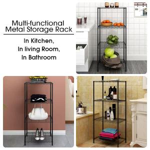 Multipurpose Metal Storage Rack