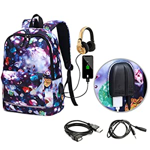 space backpack for girls