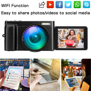 video camera with WIfI Connectivity