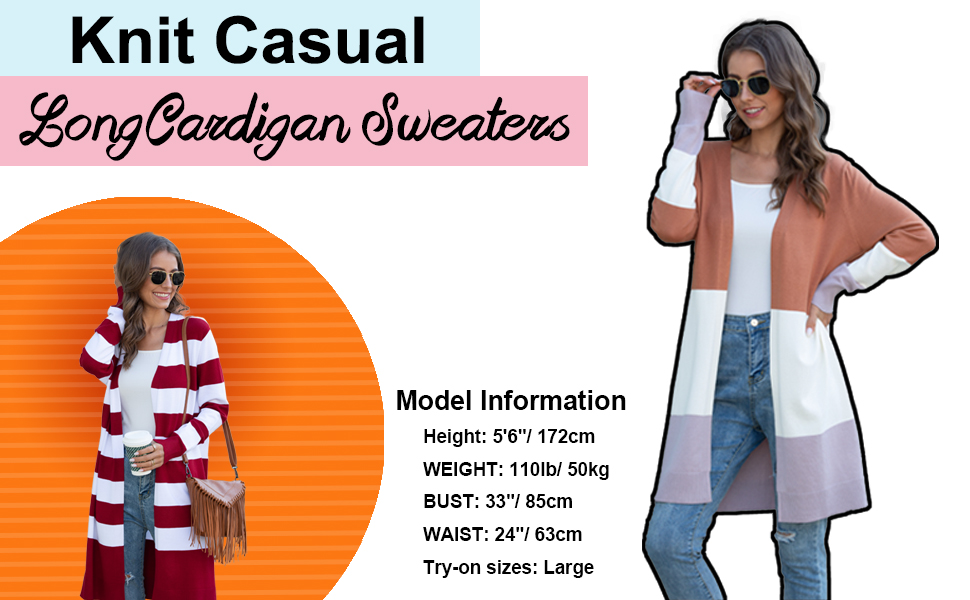 long lightweight cardigan for women