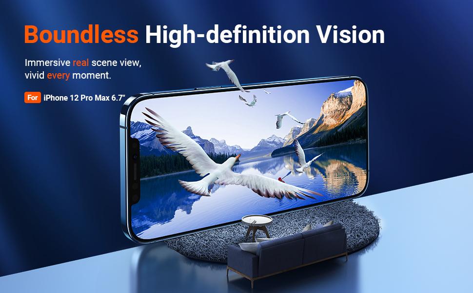 iphone 12 pro max screen protector film