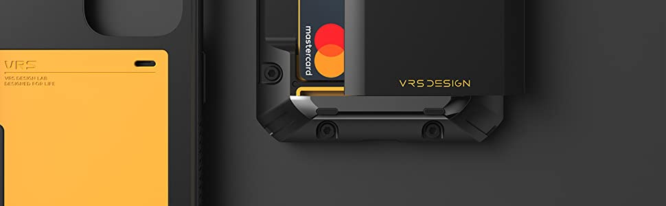 apple iphone 12 pro max damda glide pro wallet case credit card holder with semi auto