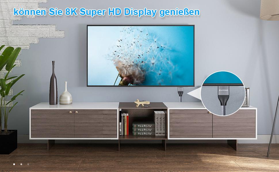 können Sie 8K Super HD Display genießen
