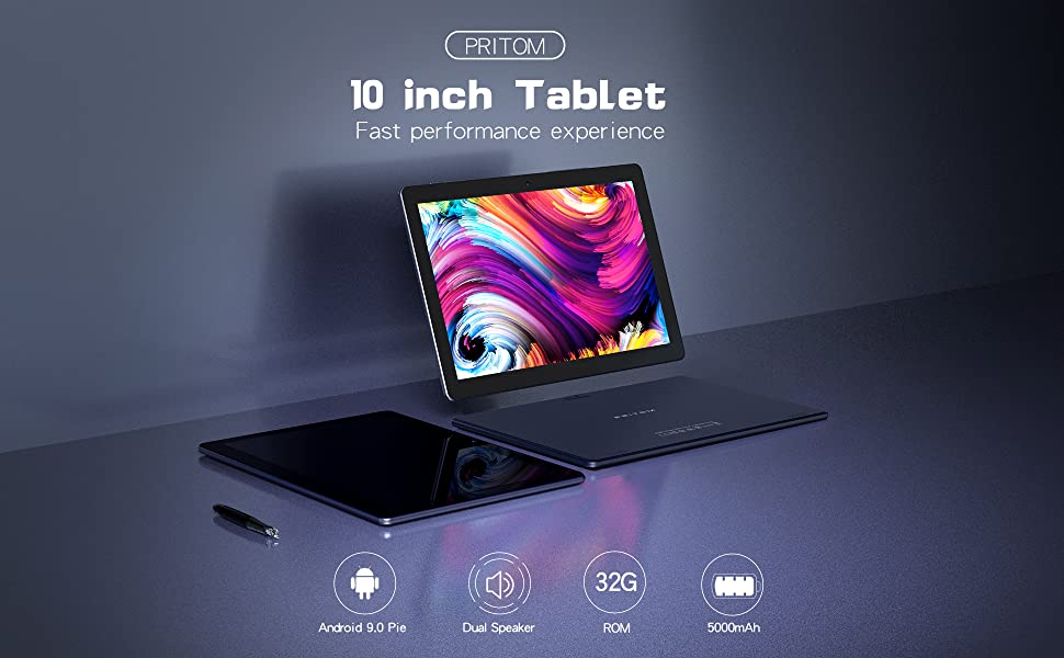 PRITOM M10 Android Tablet