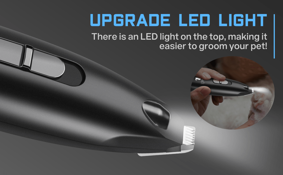 LED light paw clippers