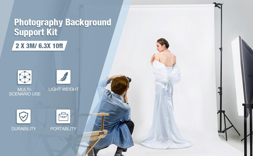Kit Supporto per Fondali Fotografici