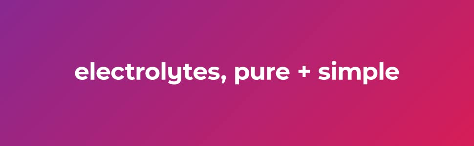 ultima replenisher electrolytes, pure + simple