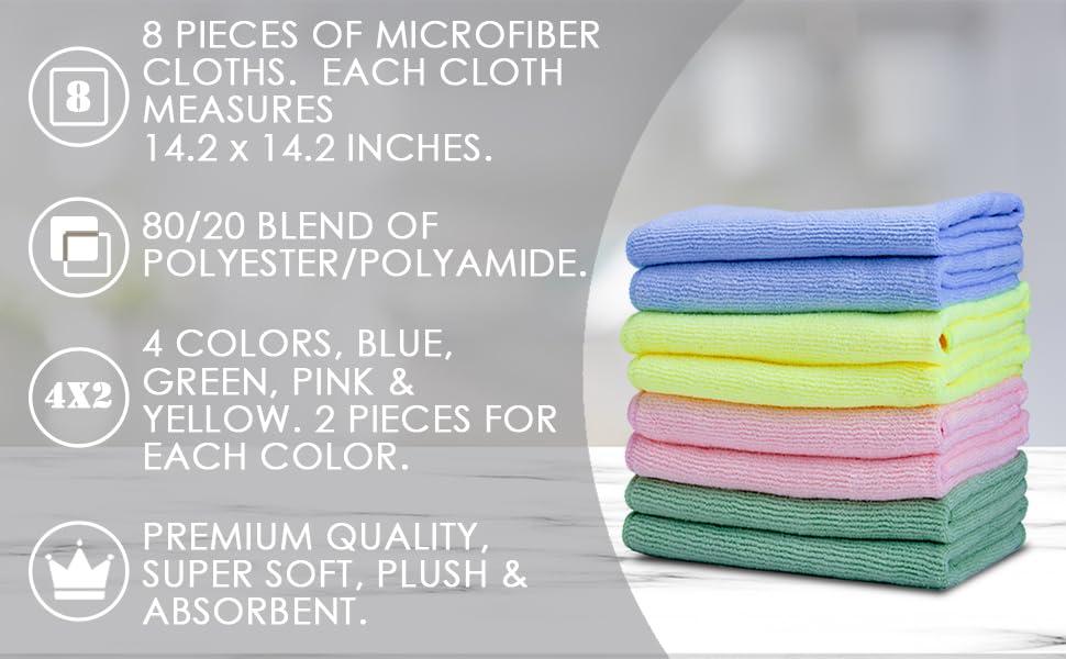 Vibrawipe microfiber cleaning cloth