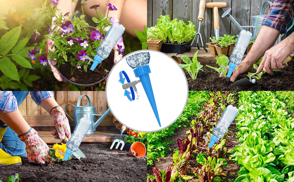 Automatic watering device, take good care of your plants and flowers. Practical and convenient