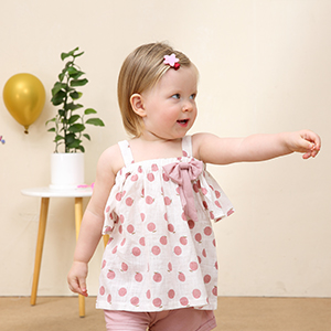 Toddler Baby Girls Clothes Ruffle Cami Top White Lace Tank Top Striped Short Pants Summer Outfit