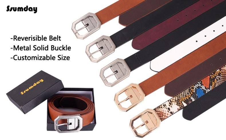 reversible belt for women