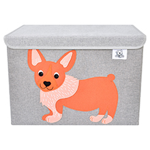 kids toy bin organizer chest storage box cube basket