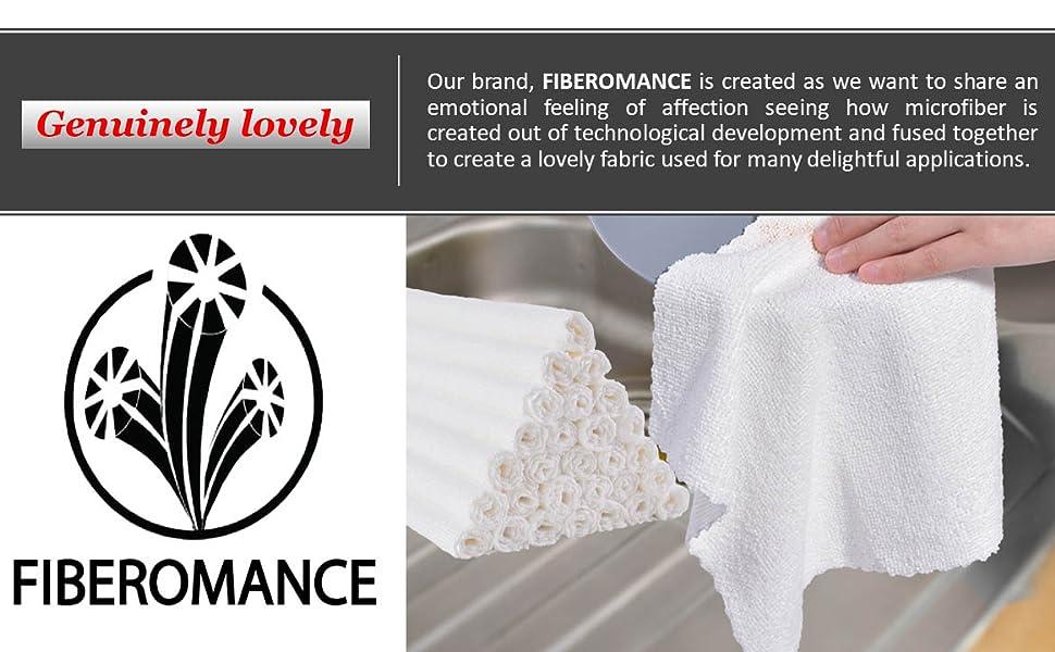 FIBEROMANCE WHITE CLEANING CLOTH