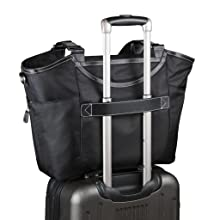 Bellevue 18.4 inch laptop tote bag - trolley