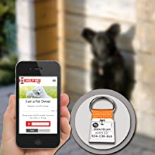 Online registration of Pet ID Tag
