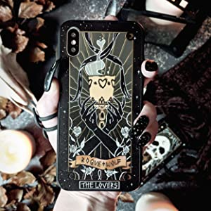 Lovers Tarot Card, wicca, wiccan supplies, witchy, witch, goth, gothic, iphone, samsung, phone case