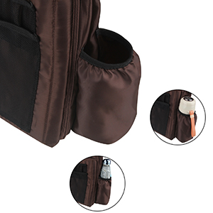 two elastic pockets