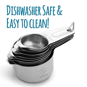 Built to last and easy to clean & dishwasher safe