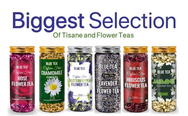 Butterfly pea, Lavender, Blue Tea, Jasmine, Stress, Anxiety, Sleep, Combo Tea, Tisane, Hibiscus