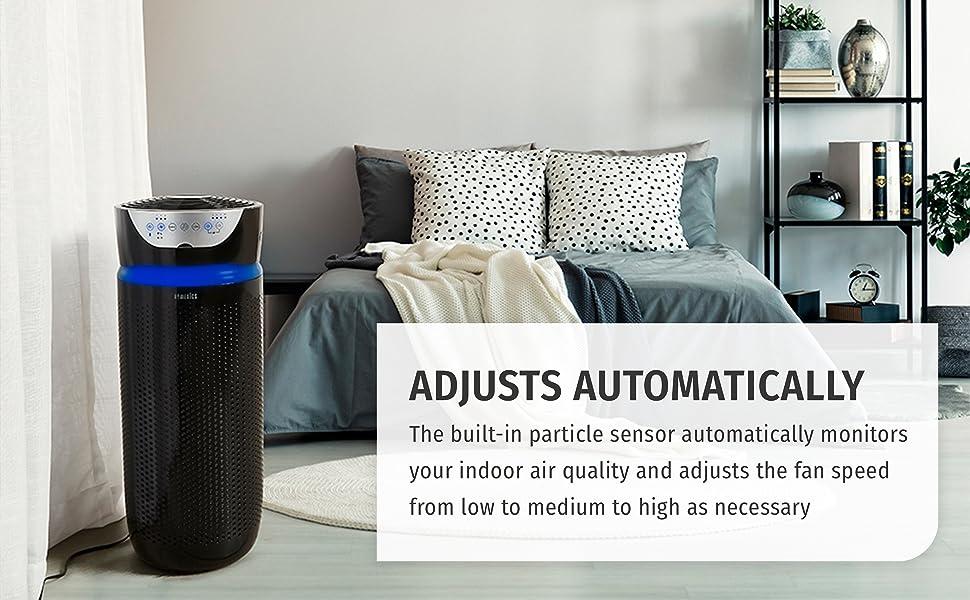 homedics, air purifier
