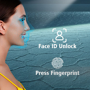 face unlocking