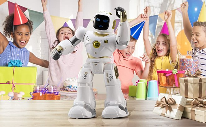 Ruko robot can be the gift of birthday, Chrismas, etc