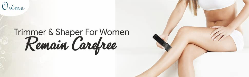 Owme Private Part Bikini Shaper and Trimmer for Women