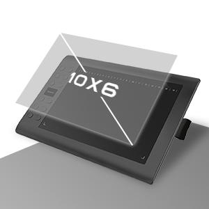 GAOMON M106K-10 x 6 Pouces Tablette Graphique Professionnelle