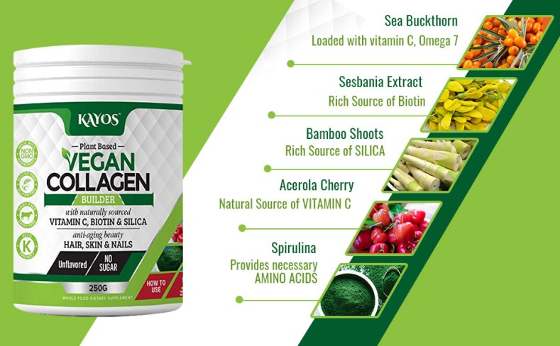 vegan collagen ingredients