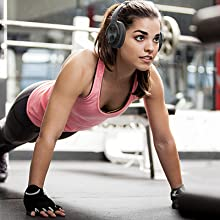 Made tough for sweaty workouts