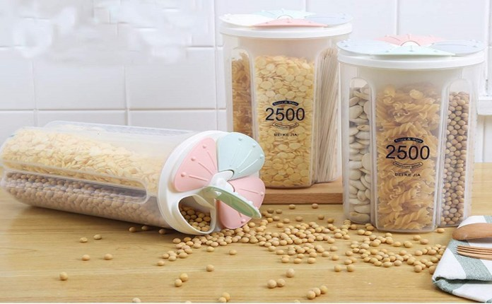 2500ml 4 Grid Cereal