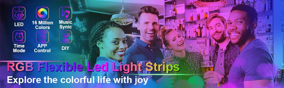 RGB Flexible Led Light Strips