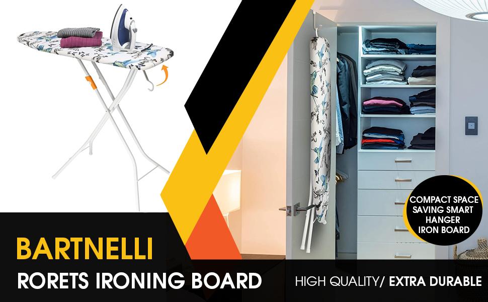 Bartnelli Ironing Board Quality European Built