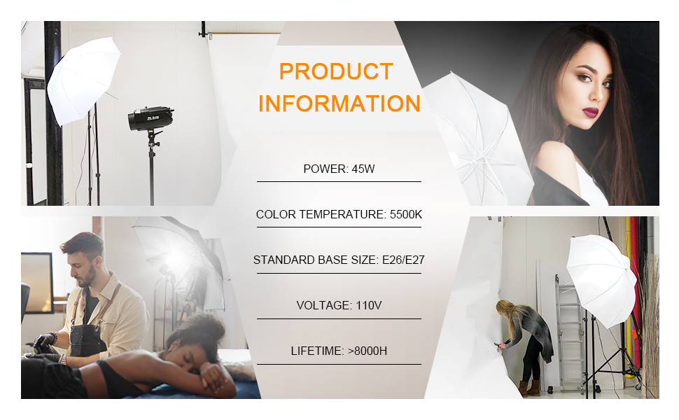 photo lighting studio kit