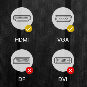 Supporta solo la trasmissione del segnale unidirezionale da HDMI a VGA