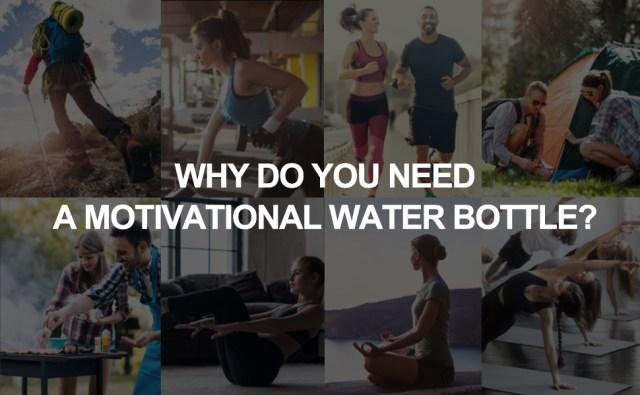 layajia 73 OZ motivational water bottle