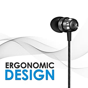 wired earphone with mic